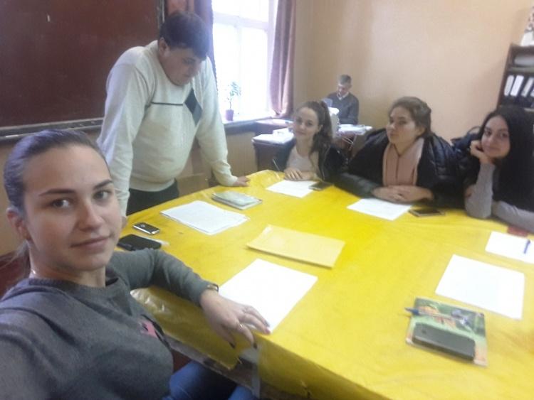 На кафедрі ОПБЖД проведено навчально-практичний семінар із працівником фонду соціального страхування