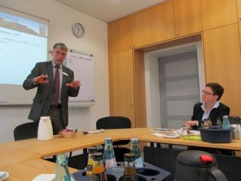 Зустріч з німецькими колегами в галузі охорони праці. Дрезден 2015