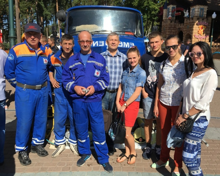Студенти ХНУ імені В.Н.Каразіна прийняли участь у святкуванні Дня рятувальника