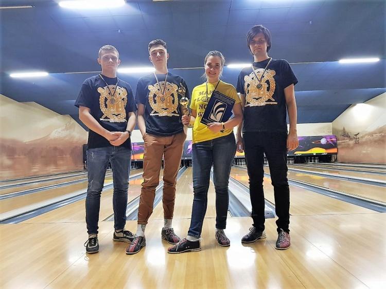 Перемога у Кубку студентського профкому з боулінгу