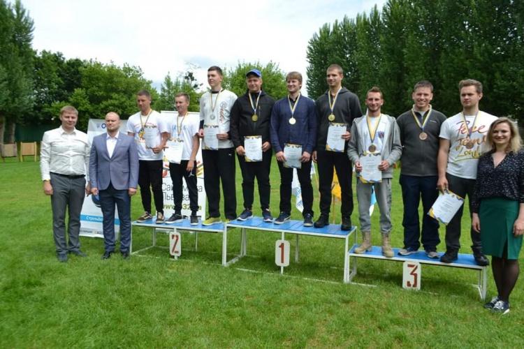 Харківська студентська команда посіла третє місце на змаганнях Універсіади зі стрільби з лука
