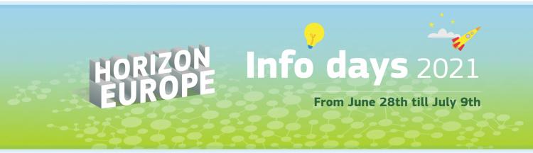 """Інформаційні дні """"Горизонт Європа"""" 2021"""