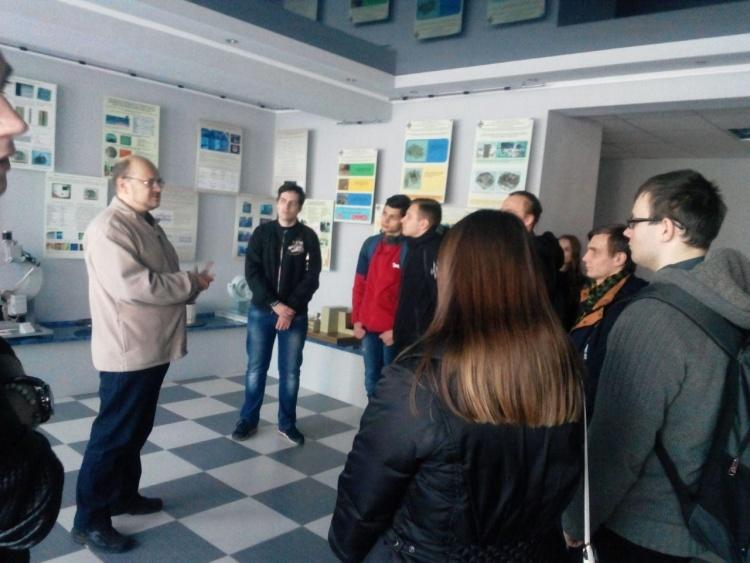 Екскурсія до науково-технологічного комплексу «Інститут монокристалів» НАН України