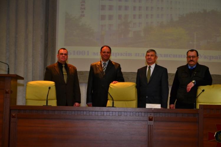Викладачі кафедри ОПБЖД взяли участь у конференції в Національній академії національної гвардії України