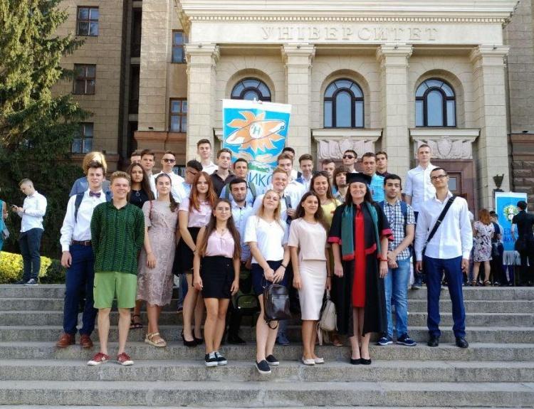 Урочиста церемонія посвяти першокурсників у студенти